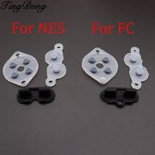 Резиновые запасные части tingdong для контроллера nes fc pc