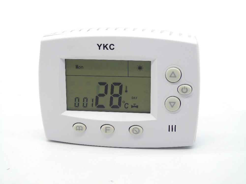 Digital Battery Powered Programmable Thermostat Gas Wall Heater