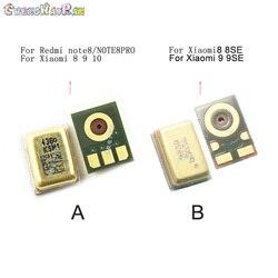 Chenghaoran 2 pçs/lote embutido microfone para xiaomi redmi note 8 8pro xiaomi 8/9/8se/cc9 peças de reparo cabo flexível