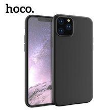 HOCO Ultra Slim Cases Matte Luxus Einfache Handy Fall Für iPhone 11 Pro Max schmutz-beständig Business Silikon Schutzhülle abdeckung