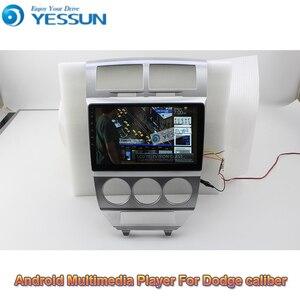 Image 4 - รถAndroid 9.0 เครื่องเล่นมัลติมีเดียสำหรับDodge Calibre 2007 2009 GPS Navigation Big ScreenวิทยุอัตโนมัติBluetoothสนับสนุนEQ