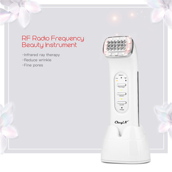 RF Radio Frequency Massager Machine Face Care Remove Facial Lifting Device and dot Matrix Anti-Aging Beauty Instrument 40