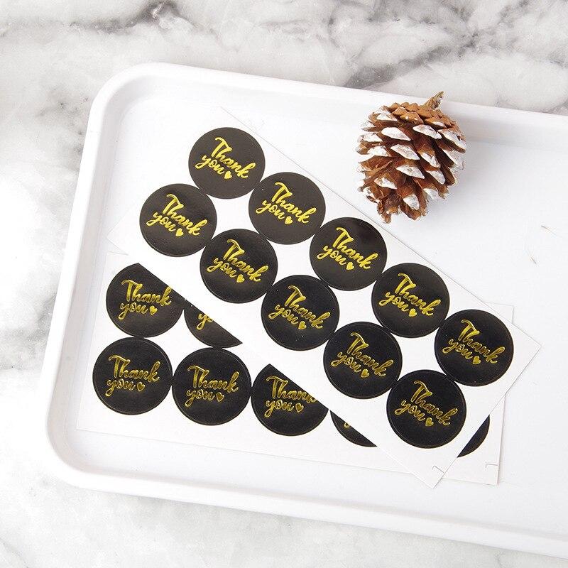 coração selo etiquetas ouro negócio embalagem etiqueta de papelaria adesivo