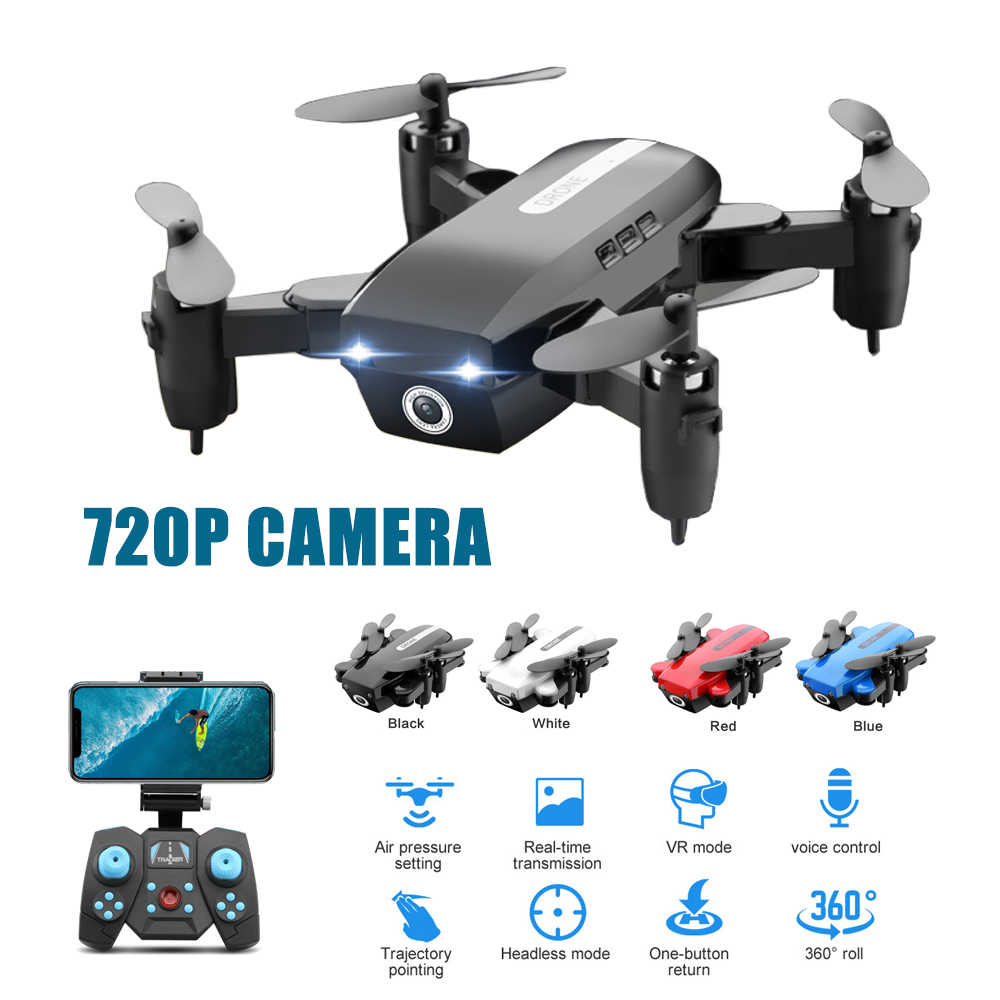 Rc Drone with HD 0.3MP/720P Camera Mini Folding Dron Drone RC Quadcopter Altitude Hold Quadrocopter Toys For Children Kids