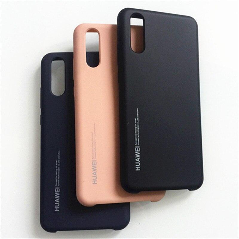 Оригинальный защитный чехол из жидкого силикона для телефона Huawei P20 Pro, шелковистый мягкий сенсорный чехол для Huawei P20 P40 Pro, чехол с логотипом