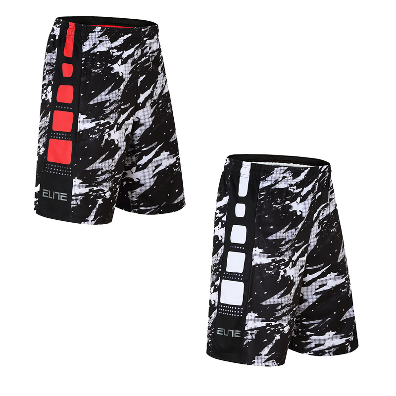 Wholesale Basketball Shorts Elite Splash Sports Shorts Over-the-Knee Shorts Large Size Quick-Dry Running Pants Men's Summer