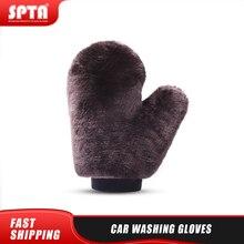 SPTA רכב כביסה כפפות אוטומטי ניקוי כלי בית שימוש רב פונקצית ניקוי כפפת רכב כביסה נקי צמר כפפה