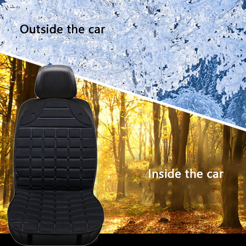 12V Electric Heated Cushions For Winter Heating Car Seat Cushio Universal Electric Goods Winter Warm Back Seat Heat