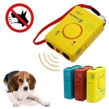 Литиевая батарея перезаряжаемая ультразвуковая дрессировка собака привод фонарик Электрический счетчик воды для чтения