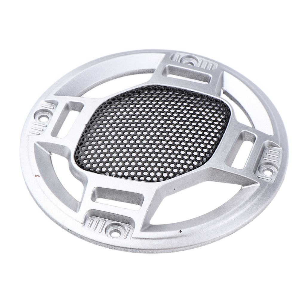 Image 5 - 3'' Speaker Decorative Circle SubWoofer Grill Cover Guard Protector Mesh-in Car Stickers from Automobiles & Motorcycles