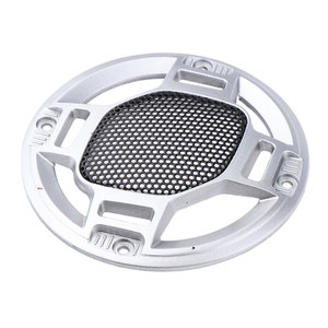 Image 5 - 3 Spreker Decoratieve Cirkel Subwoofer Grill Cover Guard Protector Mesh