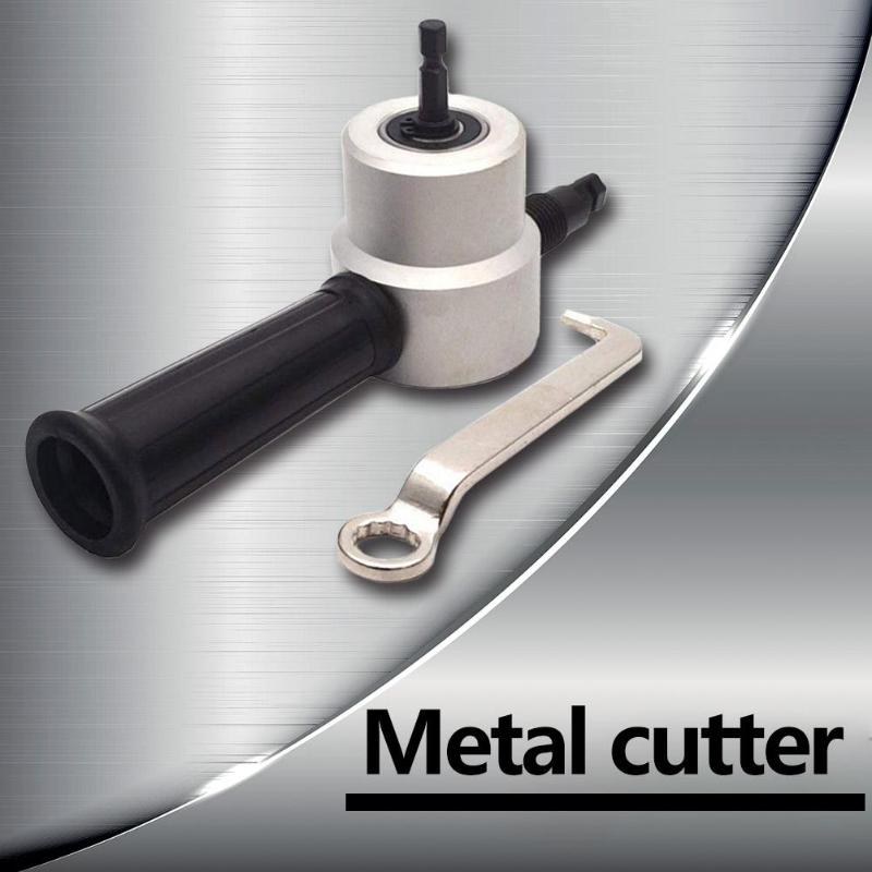 Double Head Metal Plate Iron Sheet Cutter Nibbler Saw Metal Cutting Drill Tools