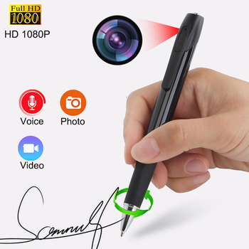 1080P HD Camera Long Recording Mini DV Voice Recorder Video Class Students Business Comcorder Noise Reduction
