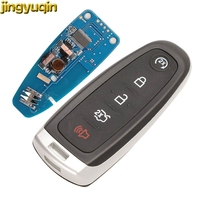 Jingyuqin inteligente chave do carro remoto 315 mhz id46 m3n5wy8609 para ford edge escape explorar expedição flex foco taurus keyless fob 5btn