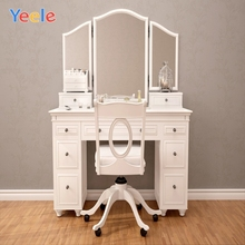 Yeele Old Boudoir Interior Dressing Table Chair Girl Photography Backgrounds Customized Photographic Backdrops for Photo Studio
