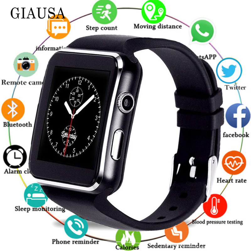 X7 Smart Watch with Camera Touch Screen Support SIM TF Card Bluetooth Smartwatch for IPhone  Android Phone|Smart Watches| |  - title=