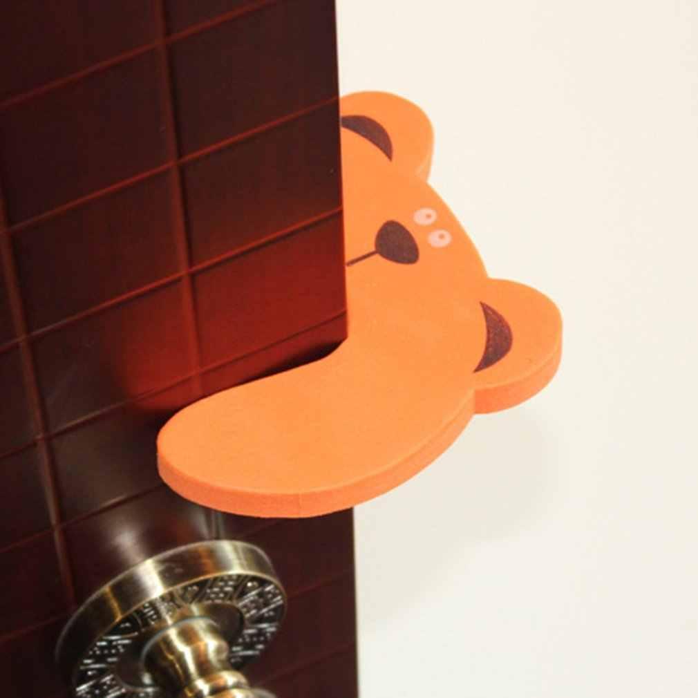 สัตว์การ์ตูนประตูลิ้นชักตู้ล็อคความปลอดภัย Clamp EVA Foam Finger Pinch Guard เด็กป้องกันความปลอดภัย