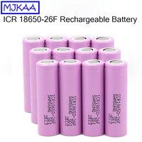 12Pcs MJKAA ICR18650 26F 2600mAh 18650 Battery Li Ion Lithium Rechargeable Batteries for Flashlight Electric Vehicle