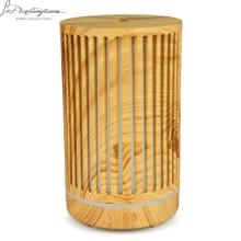 NMT 055 200Ml Led Nachtlampje Luchtreiniger Holle Cilinder Voor Huis Luchtbevochtiger Etherische Olie Aroma Diffuser Dropshipping