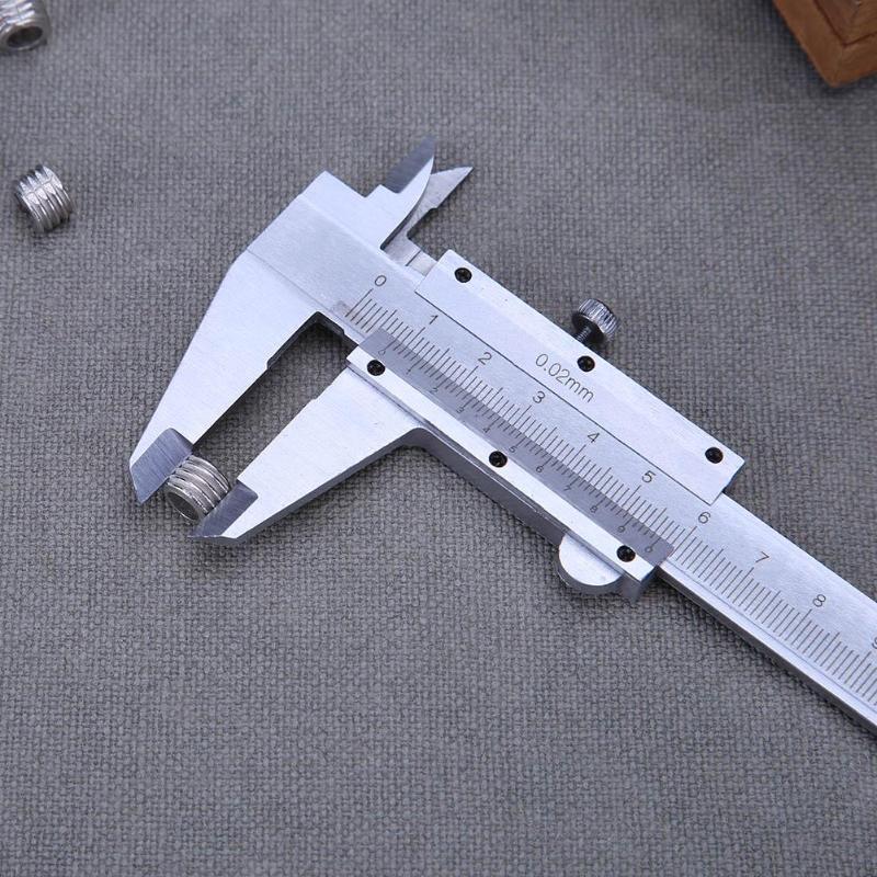 Vernier Caliper 0-150mm 0.02mm Metal Calipers Gauge Measuring Tools Micrometer Pie De Rey Paquimetro Measuring Tools