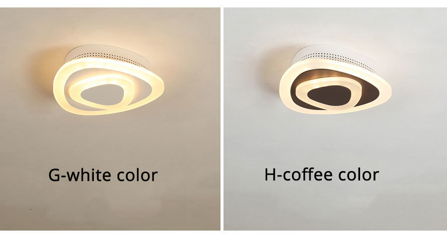 H9522058e19e642838bd9edafcf209dd5w Ceiling Light Modern LED corridor Lamp For bathroom living room round square lighting Home Decorative Fixtures dropshipping