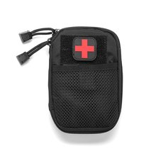 Camouflage Tactics Portable Military First Aid Kit Hike Emergency Treatment Care Waterproof Small Bag
