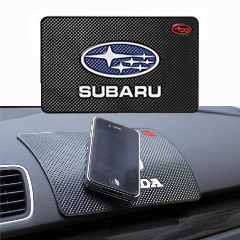 Pad antideslizante para coche soporte para teléfono antideslizante Mat antideslizante esteras para Subaru forester 2009, 2014 de 2019 impreza outback legacy xv 2018 sti