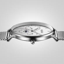 Men ultra thin Quartz Watch Top Brand Luxury Wrist Watches Casual fashion stainless steel Watches Rose Waterproof Man Clock все цены