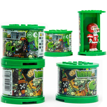 Plants vs Zombies Figures Building Blocks PVZ Action Figures Compatible With LegoED Game Brick Toys For Children Collection Toys 342pcs my world series tree house in island model building blocks compatible legoed minecrafted village brick toys for children