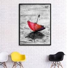 Настенная картина на холсте Зонт от ветра Европейский стиль