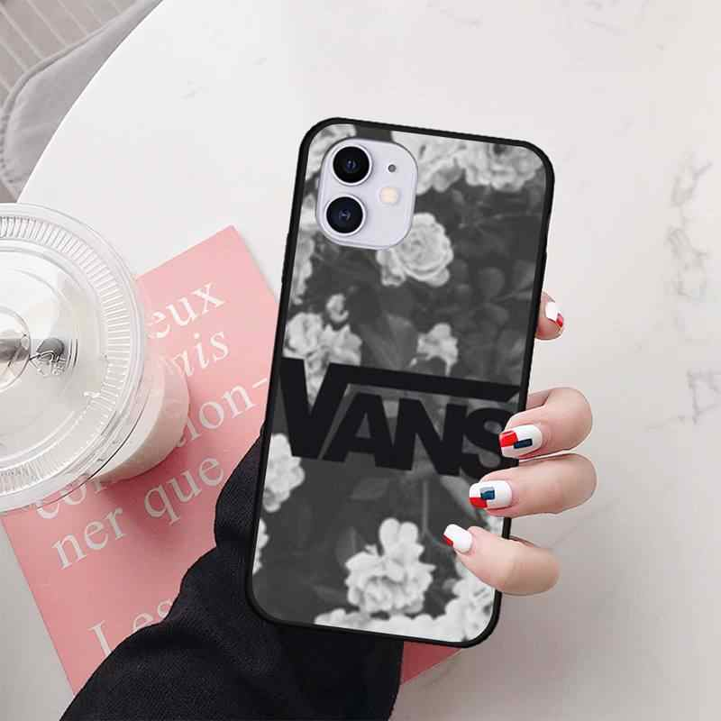 Fashion Brand For VANS case coque fundas for iphone 11 PRO