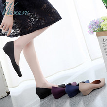 Casual Work Women Basic Candy Color Nude Heels Lady Office Pumps Black Comfortable New Wide Heels Low Block Shoes Blue Zapatos(China)