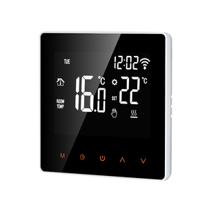 Thermostat 16A Wi-Fi /NO WIFI Orange / White Smart Thermostat Digital Temperature Controller APP Control LCD DisplayTouch Screen(China)
