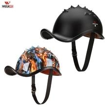 WOSAWE Men Women Motorcycle Helmet Open Face Half Helmet MTB Safely Cap Waterproof Racing Off Road Helmet Casco Ciclismo