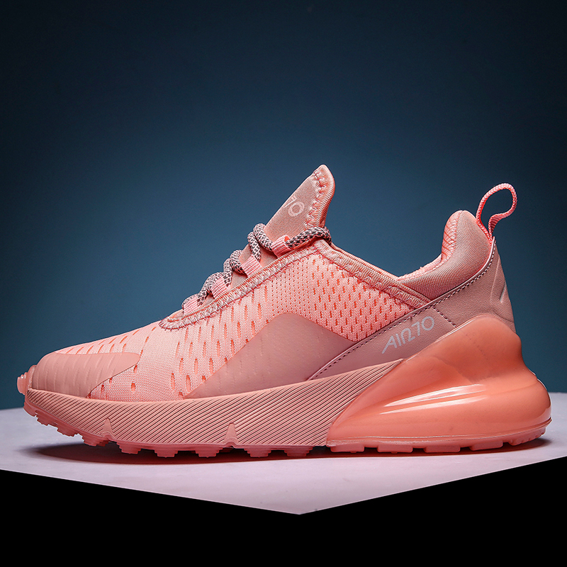Hot Sale New Running Shoes Women Jogging Sneakers For Man Rubber Breathable Mesh Lace-up Outdoor Training Fitness Sport Shoes