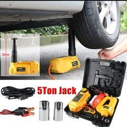 AUTOOL gato hidráulico 5T DC Auto Lift Rolling Jacks con kits de llave eléctrica para vehículo todoterreno SUV 33cm de altura