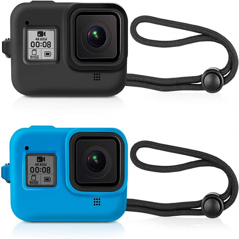 Soft Protective Silicone Sleeve Cases For Gopro Hero 8 Protective Case Complete Housing For Gopro 8 Action Camera Accessoriess