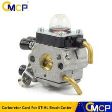 Carburateur pour débroussailleuse STIHL, pièces de rechange pour tondeuse à gazon coupe gazon, 1 pièce, pour modèle FS38 FS45 FS46 FS55 FS74 FS75 FS76 FS80 FS85