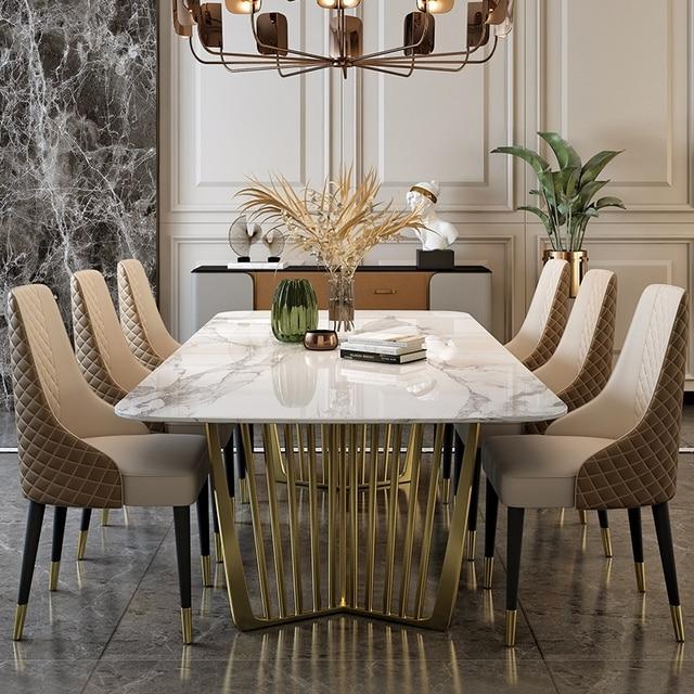 Luxury Marble Dining Set 1