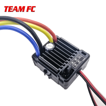 high quality all waterproof 540 brush motor with 1060 brushed 60a 5v 3a esc set for 1 10 rc drift climbing crawler car 1pcs Original HobbyWing QuicRun 1060 60A Brushed Electronic Speed Controller ESC For 1:10 RC Car Waterproof For RC Car no box