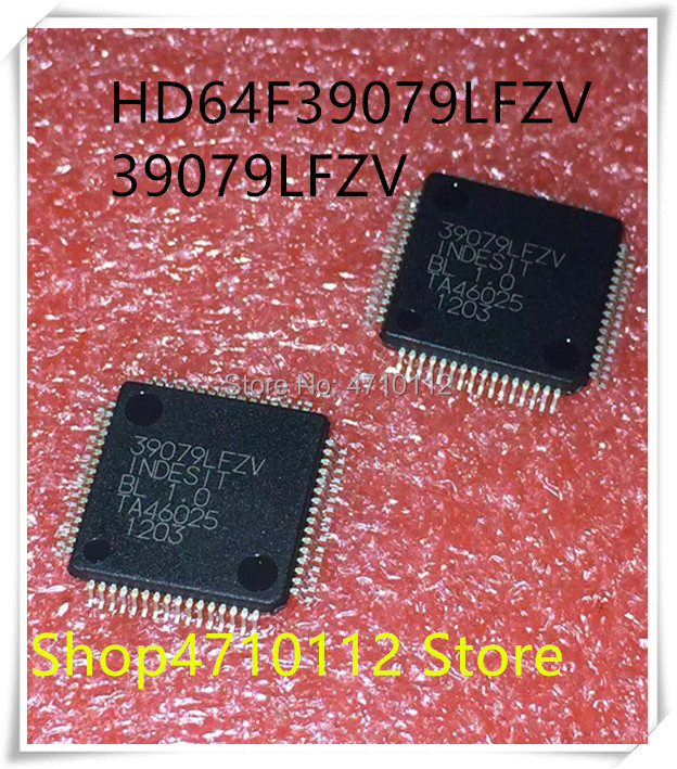NEW 5PCS/LOT HD64F39079LFZV HD64F39079 39079LFZV QFP-64 IC