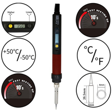 New A-BF GS90D 90W  Digital LCD Electric Soldering Iron Kit Temperature Adjustable 110V 220V Soldering Iron Tip dormancy function welding tool electric soldering iron cxg gs90d 220v 90w using 900m sting high quality replace hakko station