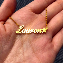 Personalized Name Necklace,Custom Necklace with Star, Custom Jewelry, Necklace, Women, Any patterns