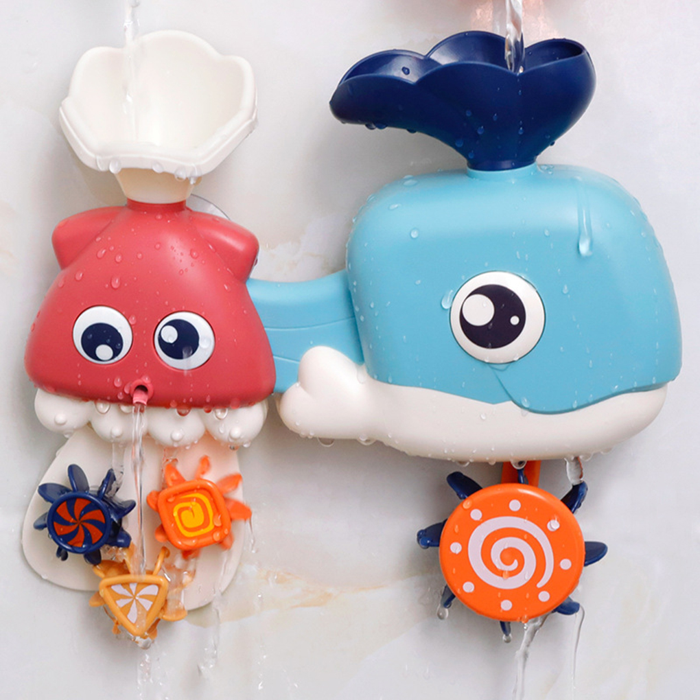 Bath-Toys Play Toddlers Children 3pcs Cartoon Gift Holiday