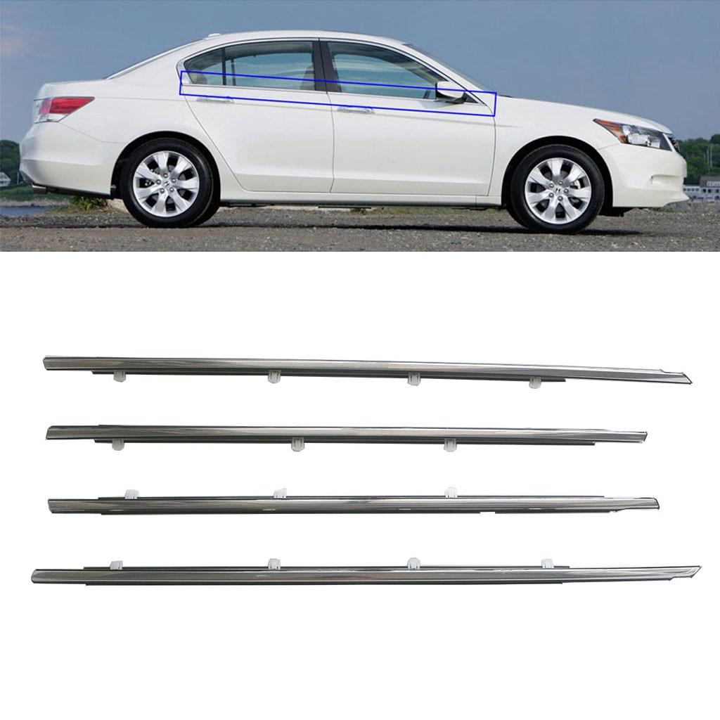 Set of 2 Pearl Grey  Pillar Trim Cap For VW CC Passat B6 06-11 3C053437C