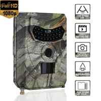 PR100 Jagd Kamera Foto Falle 12MP Wildlife Trail Nachtsicht Trail Thermische Imager Video Kameras für Jagd Scouting Spiel