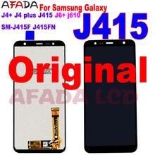 Pantalla LCD Original para Samsung Galaxy J4 + J415 SM-J415F J415FN, montaje de pantalla táctil, piezas de pantalla Lcd