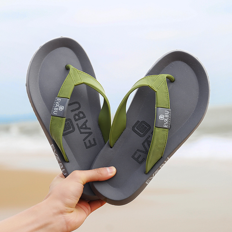 2020 New Arrival Summer Men Flip Flops High Quality Beach Sandals Anti-slip Zapatos Hombre Casual Shoes Wholesale