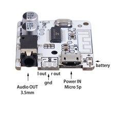 Новый Bluetooth 5,0 JL6925A стерео музыка 3,5 мм Сделай Сам автомобильный Bluetooth аудио приемник беспроводной стерео музыкальный модуль 3,7-5 в XY-BT-Mini