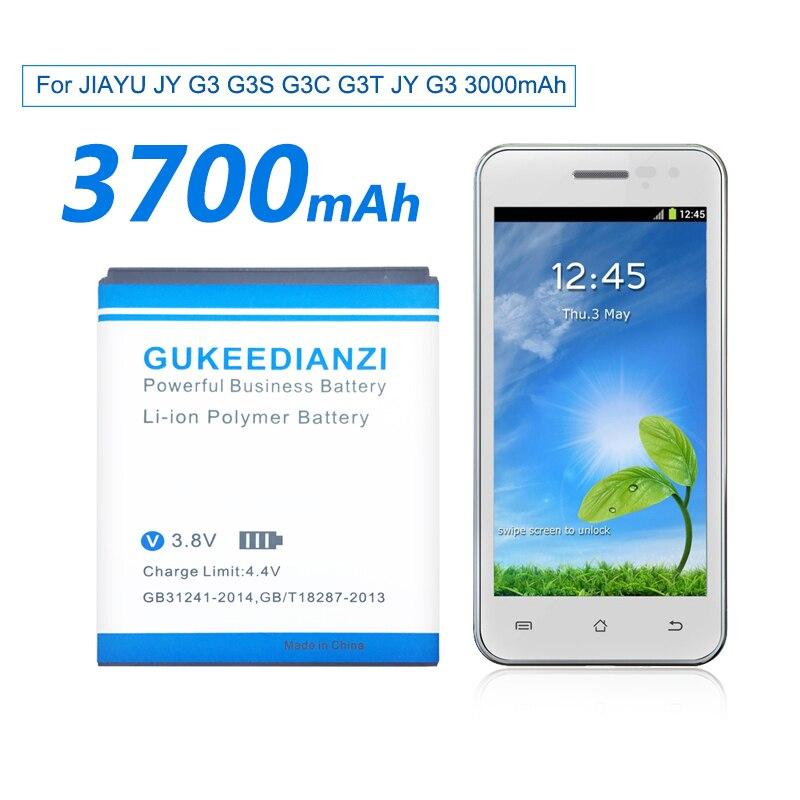 JY-G3 3700 мАч 100% новая сменная батарея для телефона JIAYU JY G3 G3S G3C G3T литий-полимерные батареи